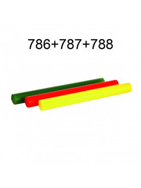 POLYURETHANE BARS WITH HOLE (786-787-788)
